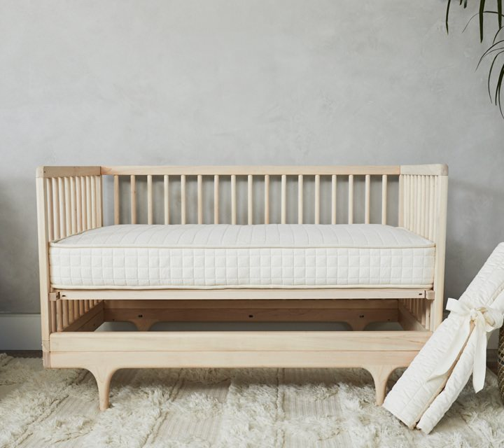 crib mattress 2 stage natural organic safe review