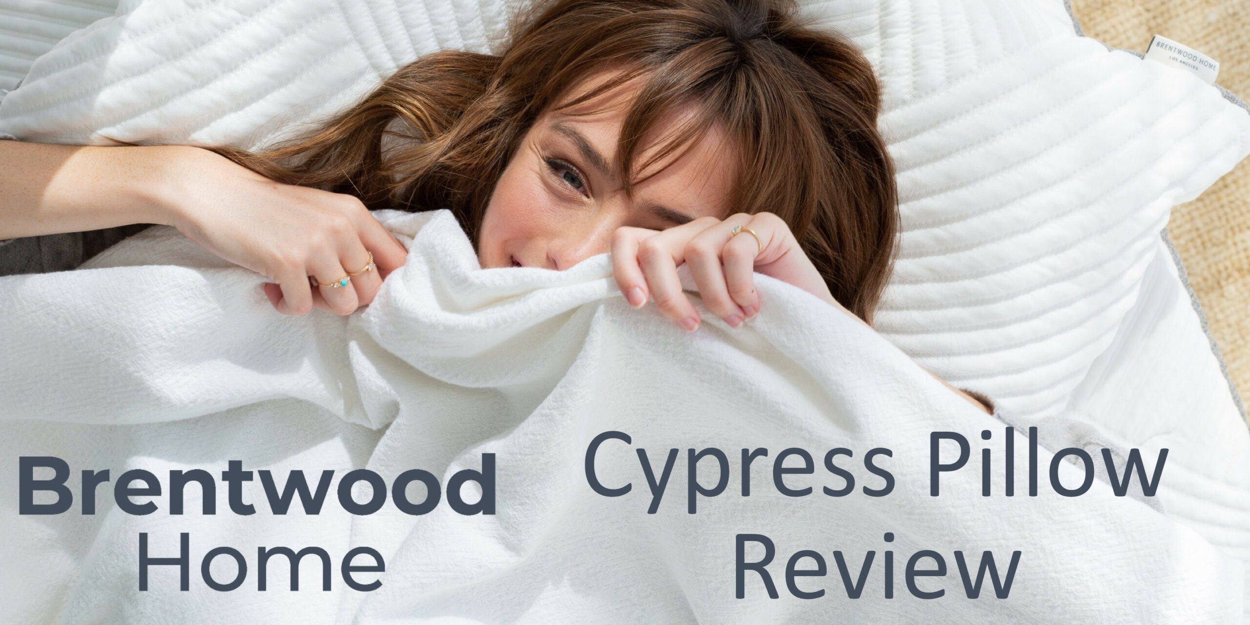 cypress pillow from brentwood home review