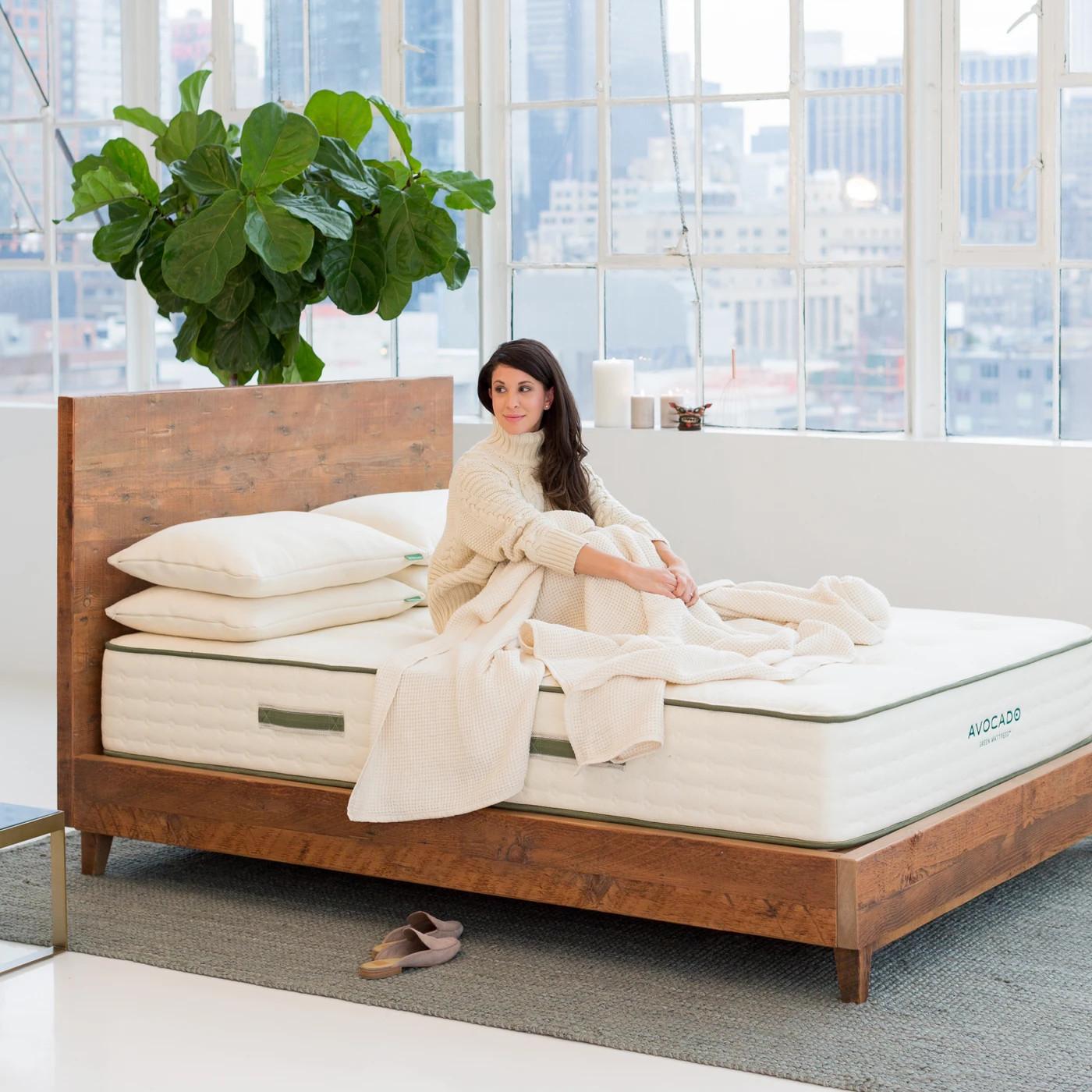best bed natural wood bed frame