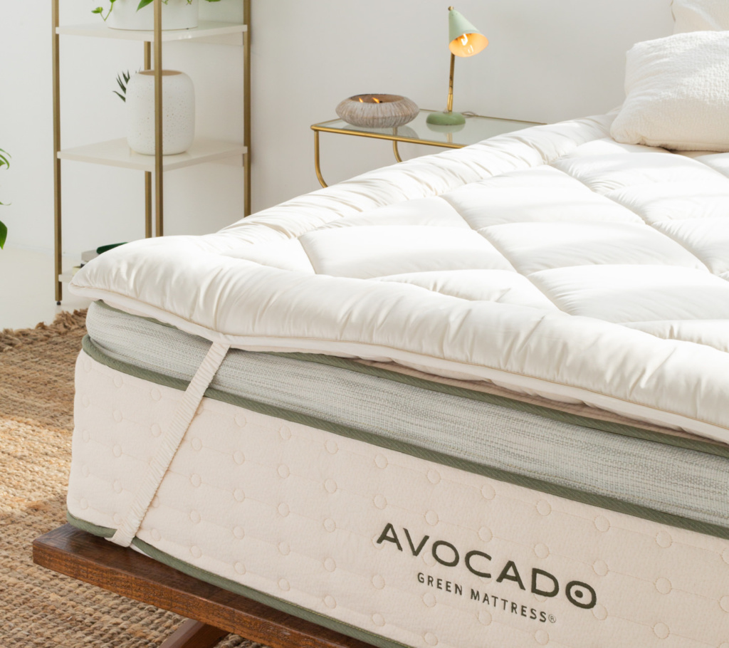 high quality mattress topper made with wool organic cotton