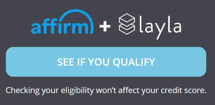 layla mattress financing