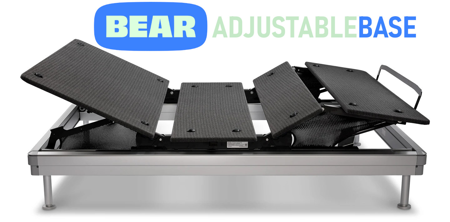 the adjustable base from Bear review