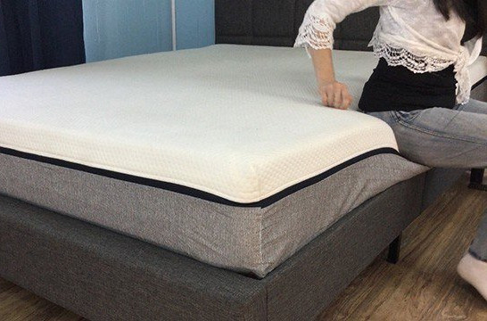 sinking edge support from memory foam mattresses