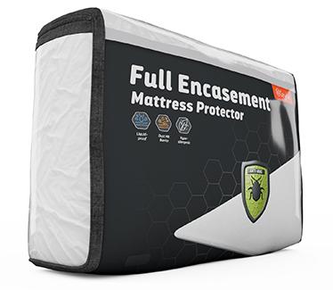 layla full encasement mattress protector