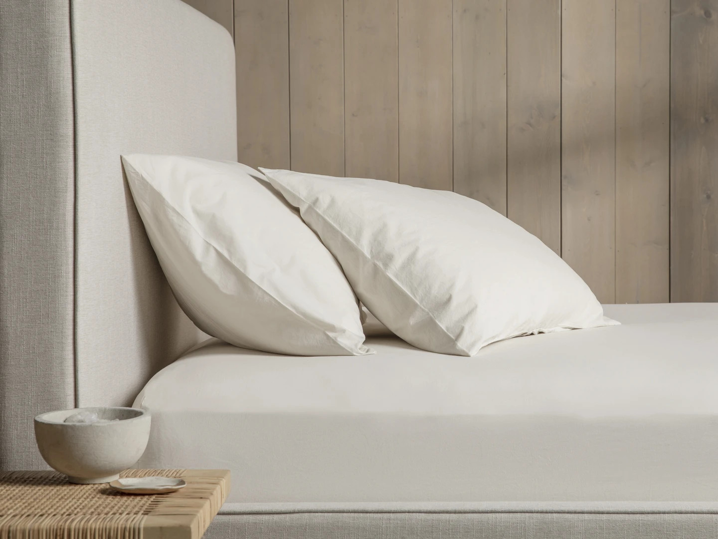 ivory brushed cotton sheets review
