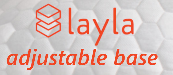 the logo for the layla adjustale base