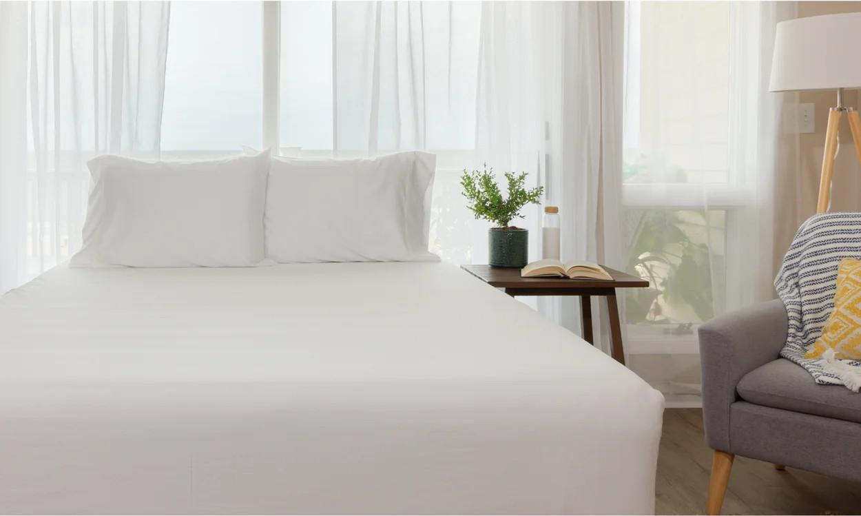 organic cotton sheet set by leesa