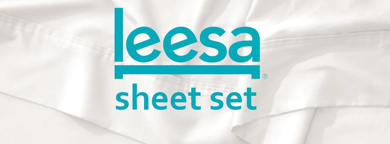 leesa sheet set logo