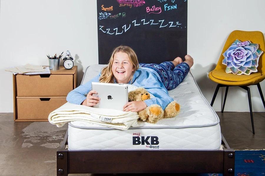big kid nest bedding mattress review