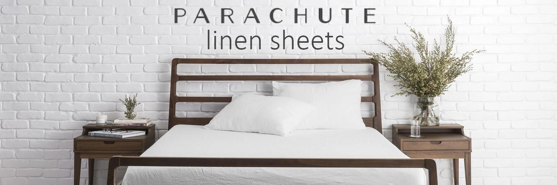 the linen sheet set of parachute