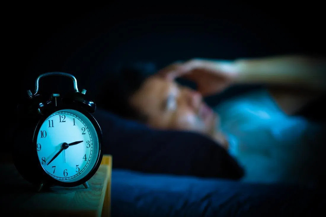 depression can cause a lack of sleep