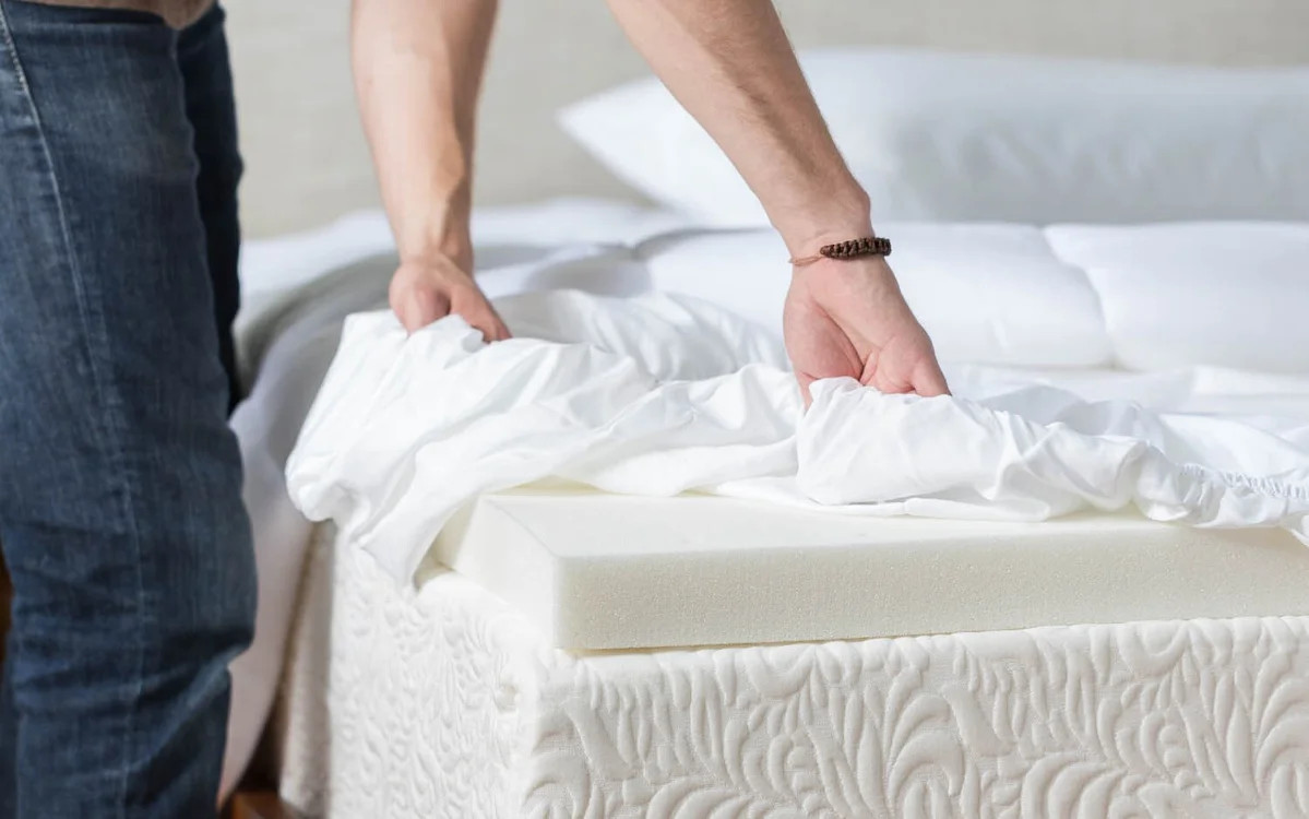 say goodbye to your mattress topper