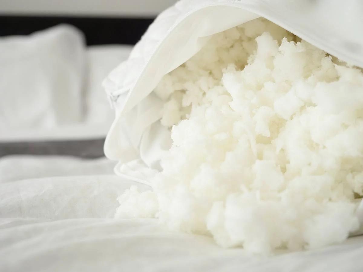 memory foam shredded layla pillow