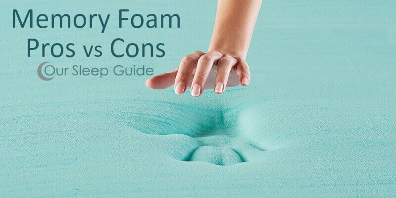 memory foam mattress pros vs cons