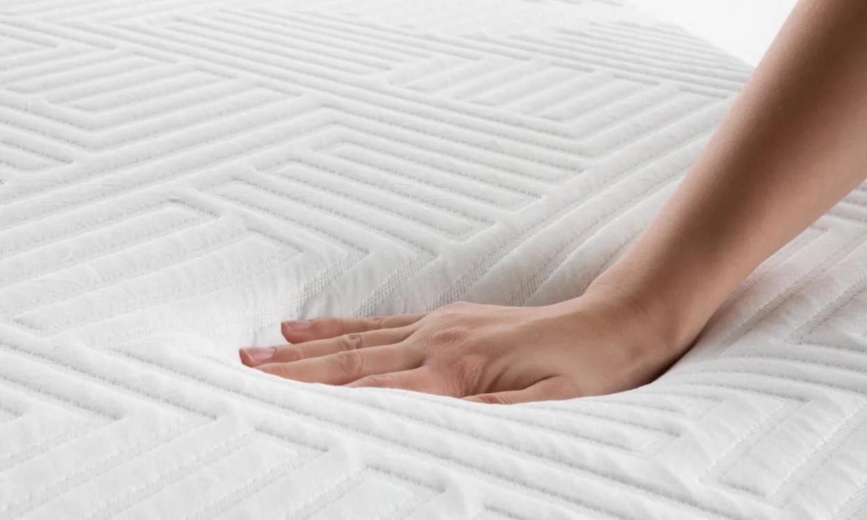 memory foam mattress over latex