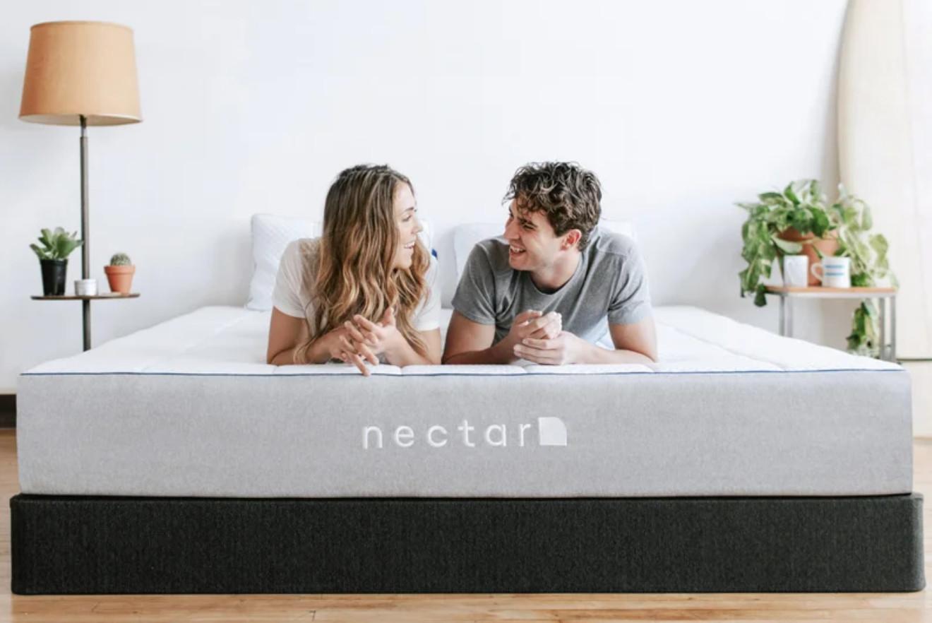 motion transfer mattress nectar wins