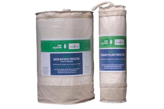organic waterproof mattress and pillow protectors