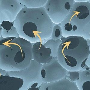 what makes open cell memory foam special