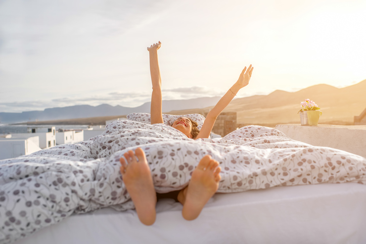 sleeping better with depression