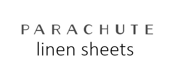 parachute linen sheets review logo