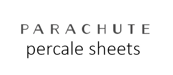 our sleep guide review for the percale cotton sheets by parachute