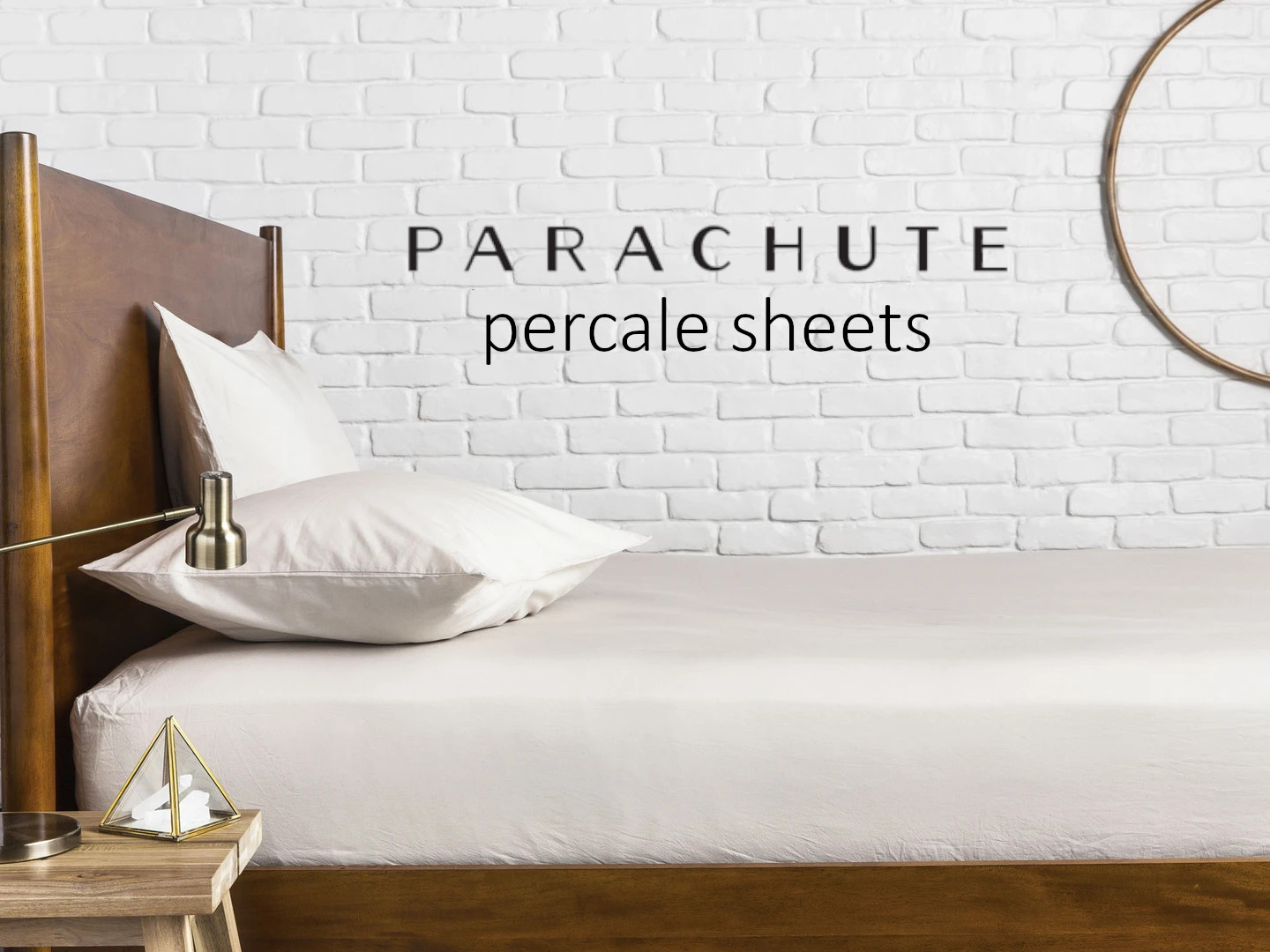 parachute percale cotton sheets review