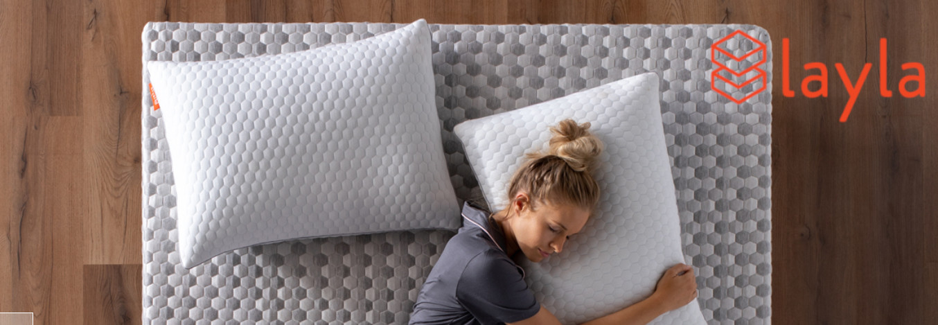 layla memory foam pillow review