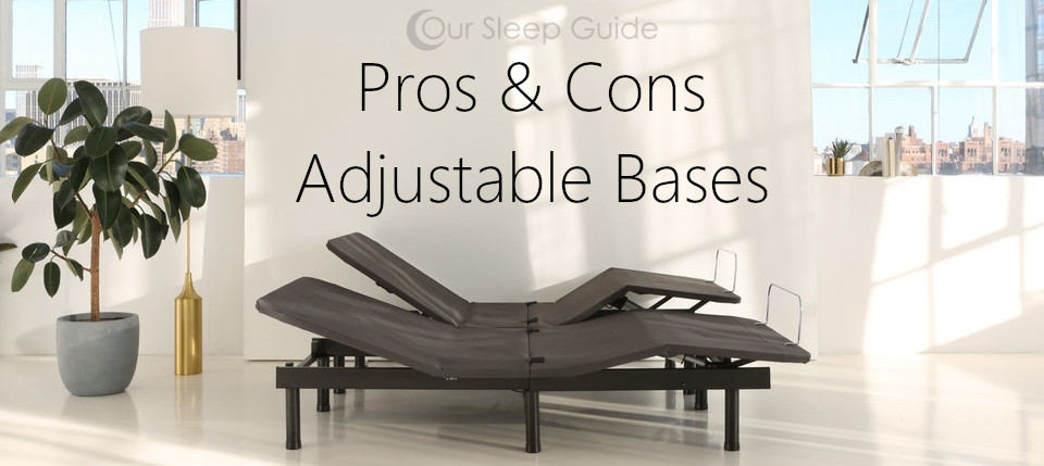 pros and cons adjustable bases bed frames
