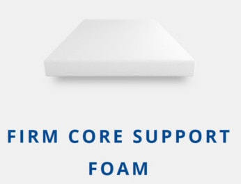 firm core support foam from puffy