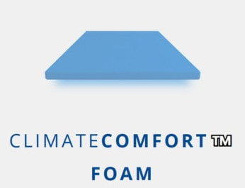 climate comfort foam middle layer puffy mattress