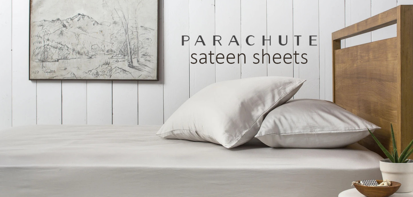 parachute sateen cotton sheet review