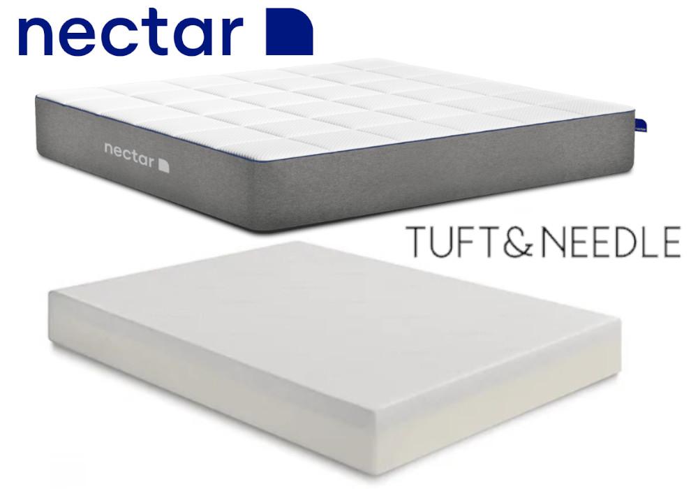 tuft and needle vs nectar mattress