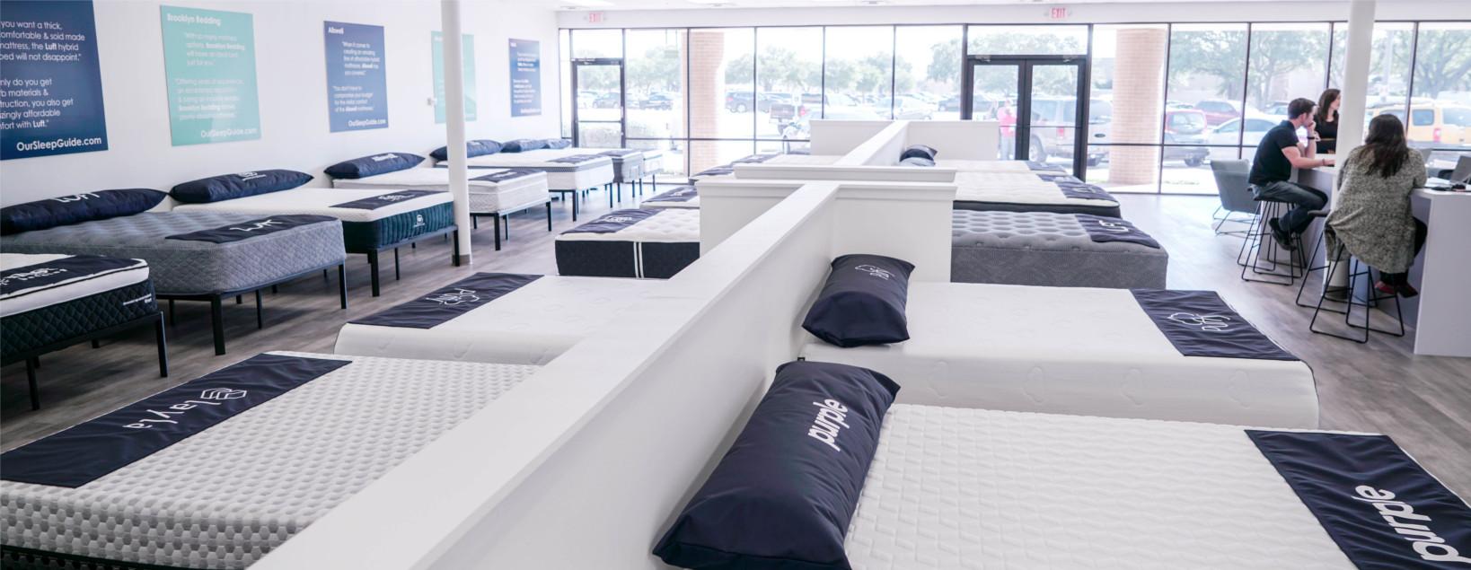 our sleep guide online austin showroom