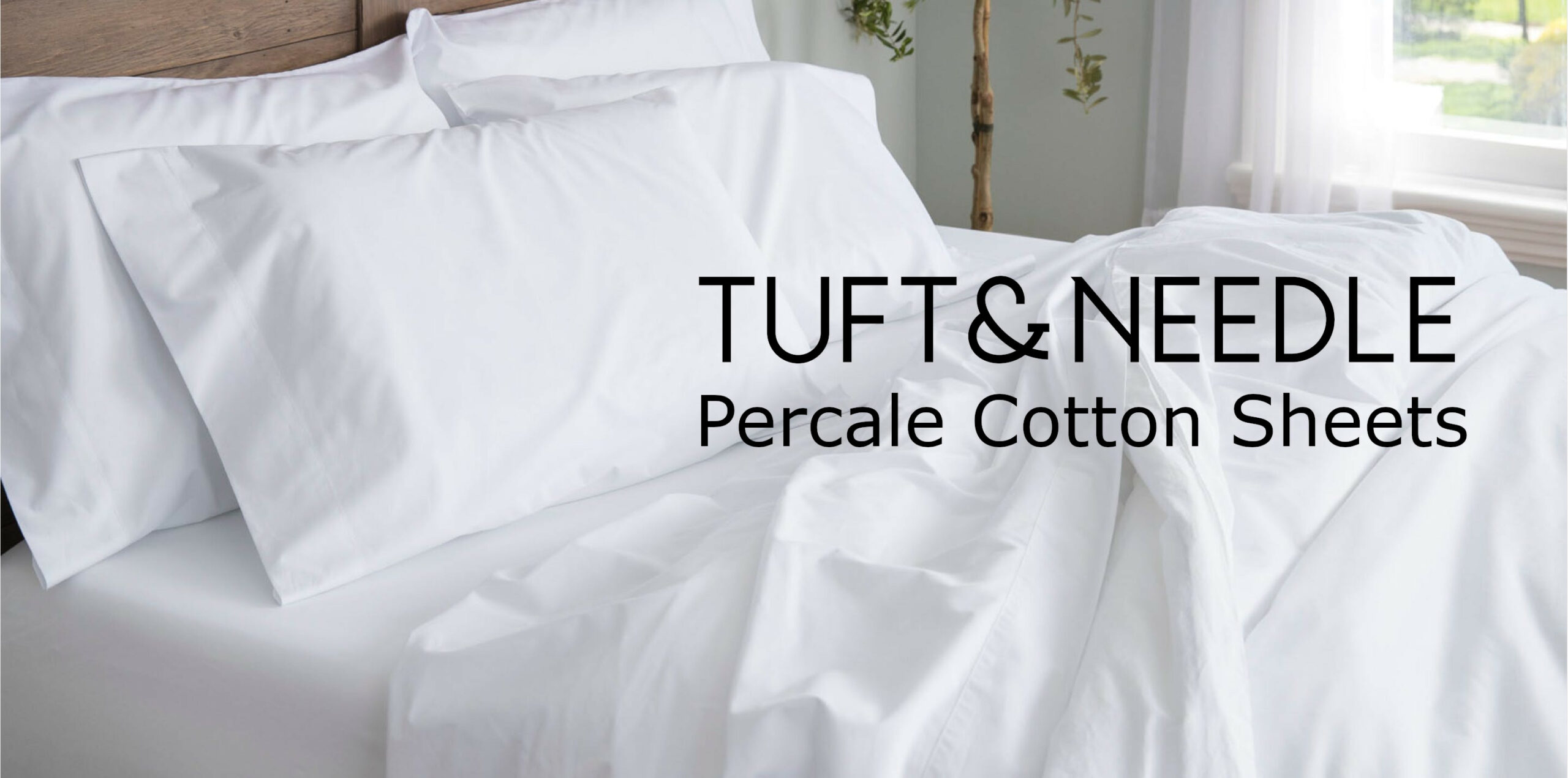 tuft and needle percale cotton sheet review