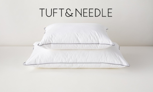 alternative down pillow tuft & needle