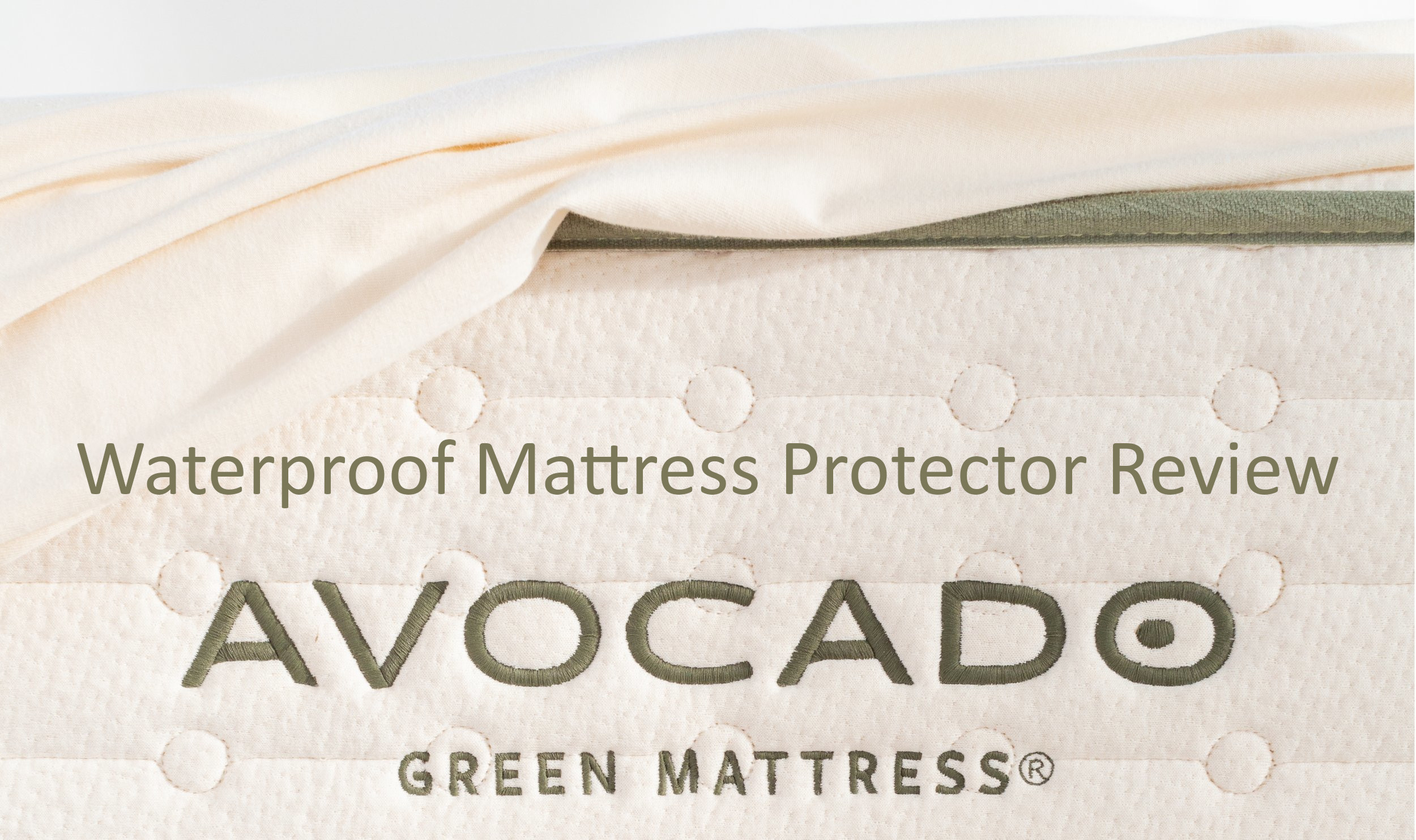 avocado waterproof mattress protector review our sleep guide