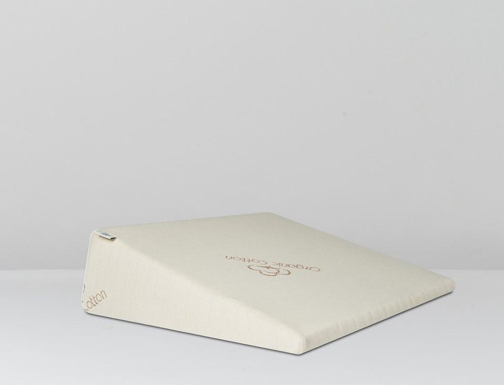 natural organic wedge pillows