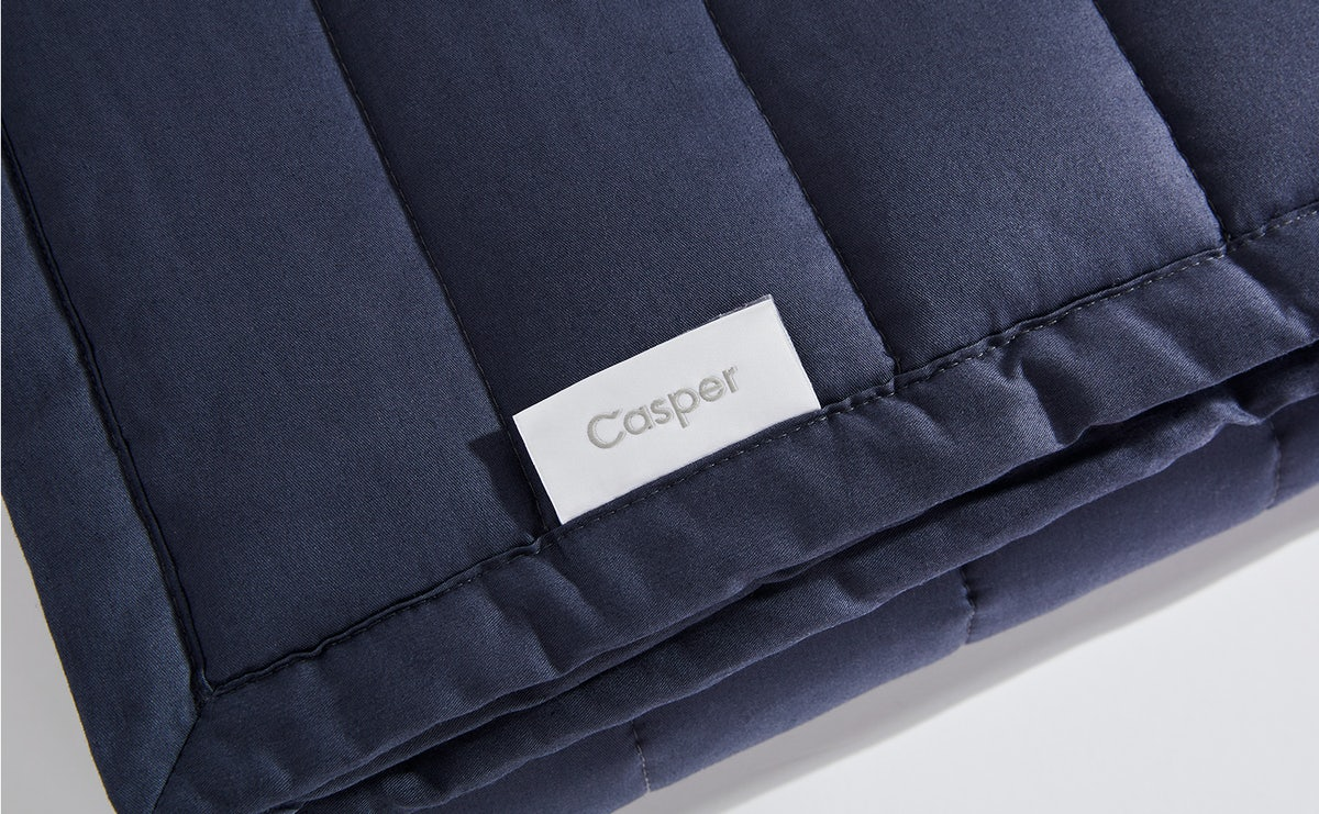 polyester fill covered in cotton