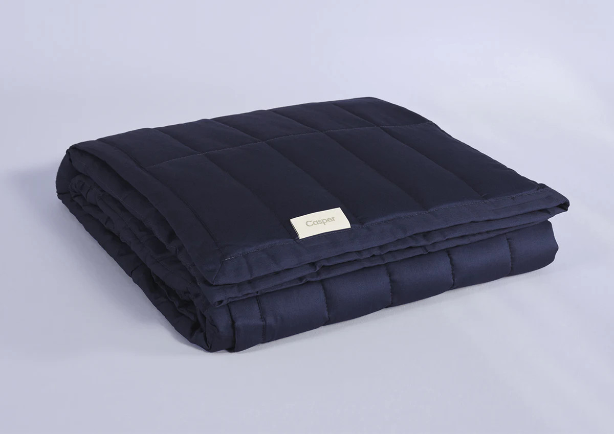 review over the casper weighted blanket