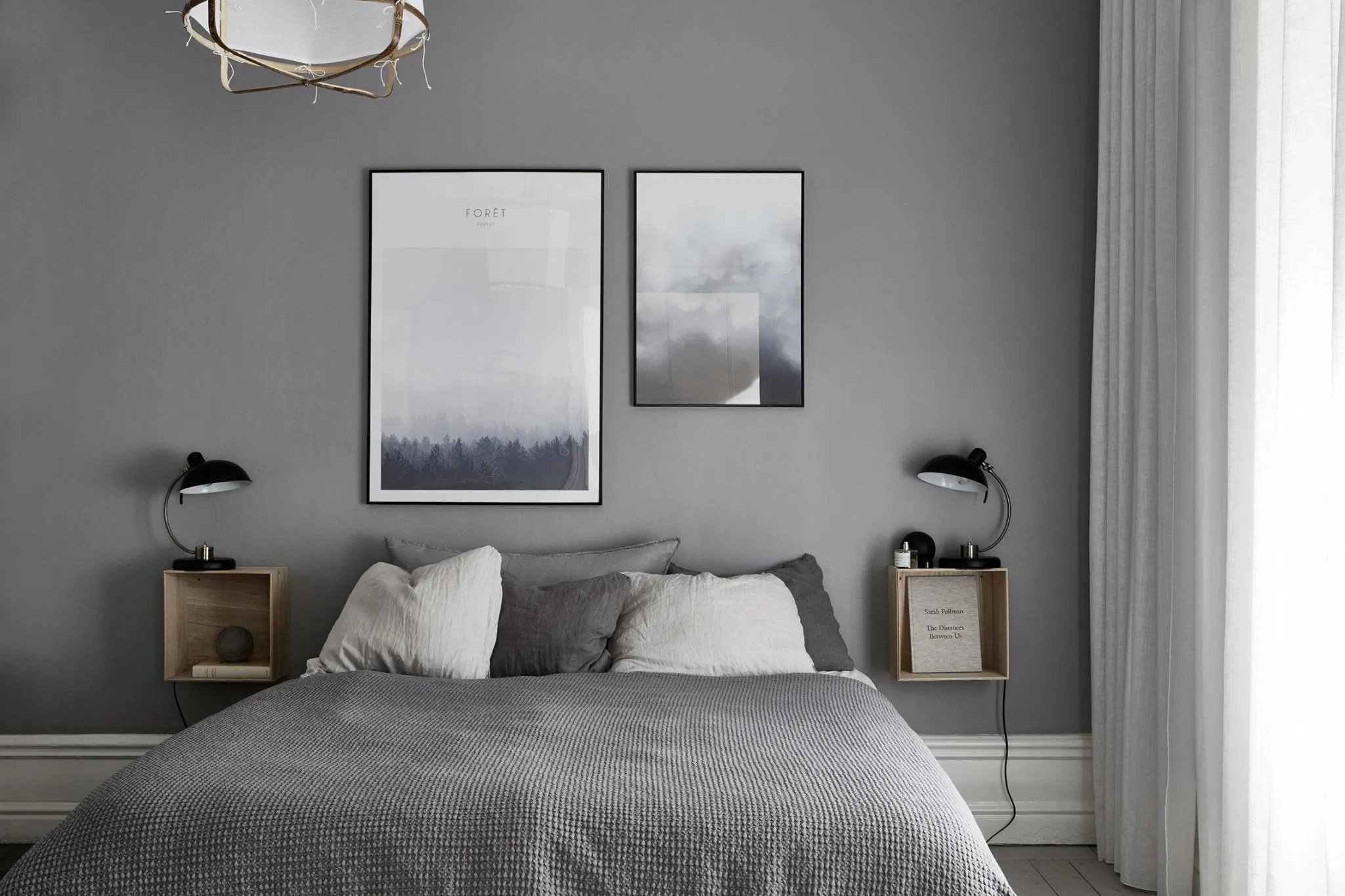 what color should I avoid in the bedroom wall color