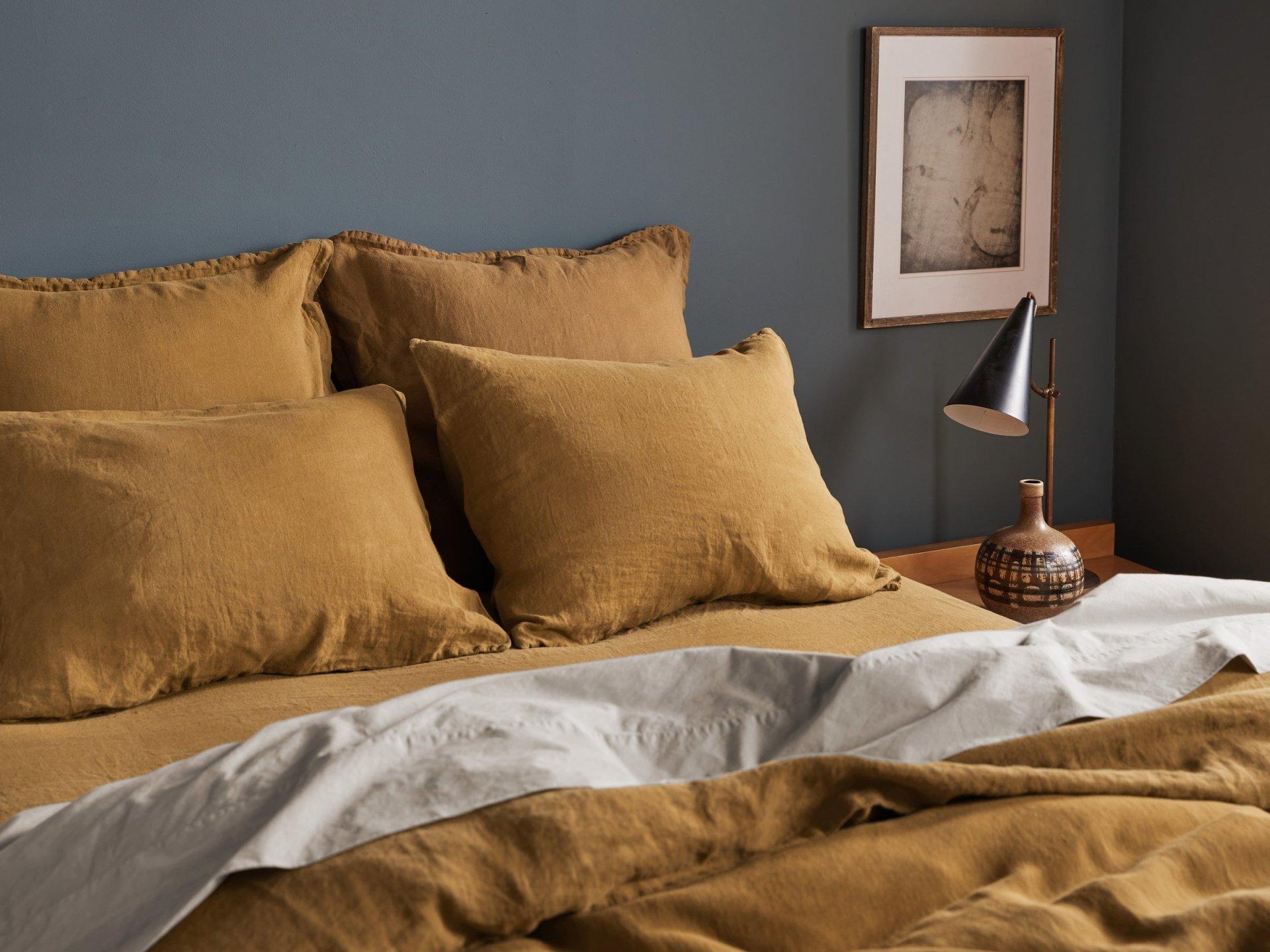 gorgeous on trend color palette linen sheets