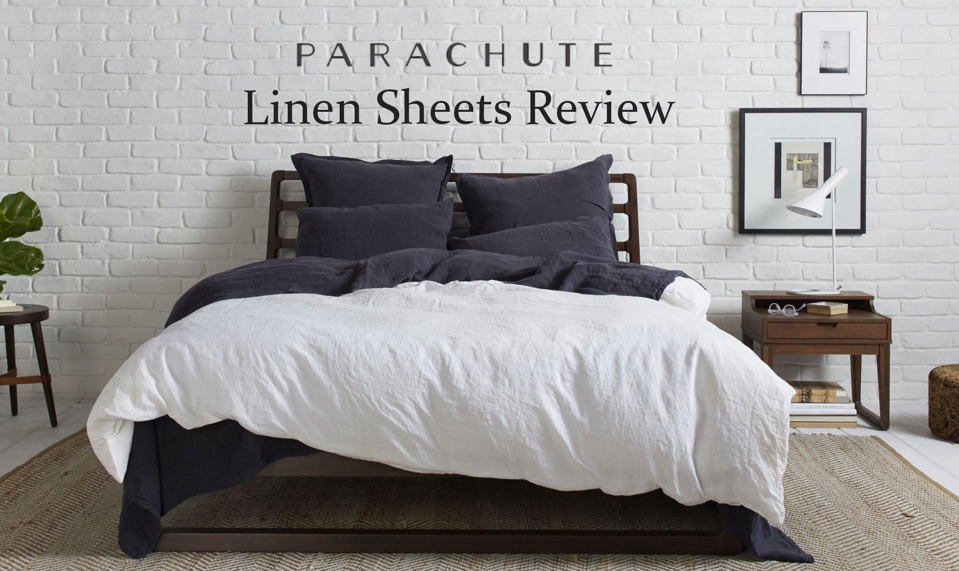 parachute linen sheet review
