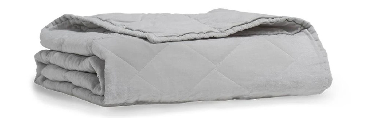 what makes the puffy weighted blanket unique?