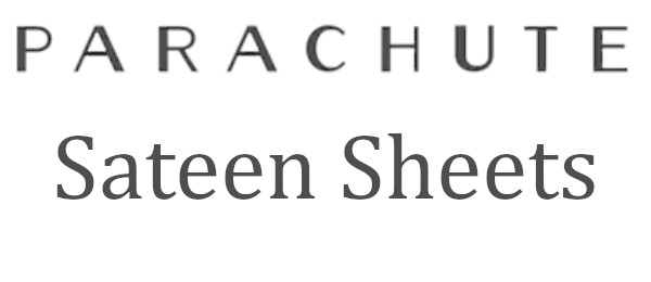 parachute sateen sheets review logo