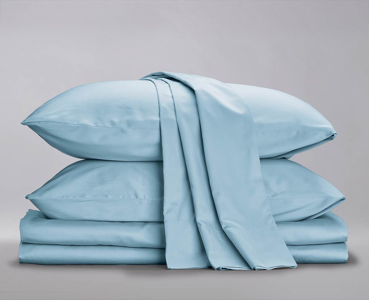 soft blue cotton bedding sol organics review