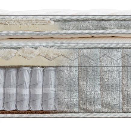 cedar natural luxe mattress cool