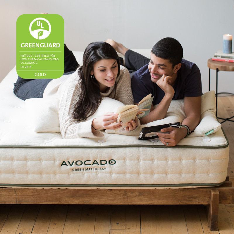 best mattress for warm sleepers avocaod