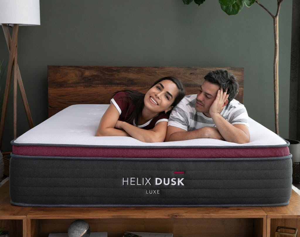 helix luxe mattress for couples