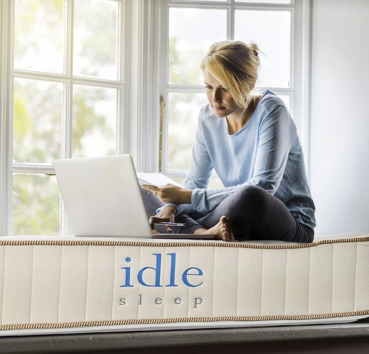 idle sleep natural latex hybrid mattress