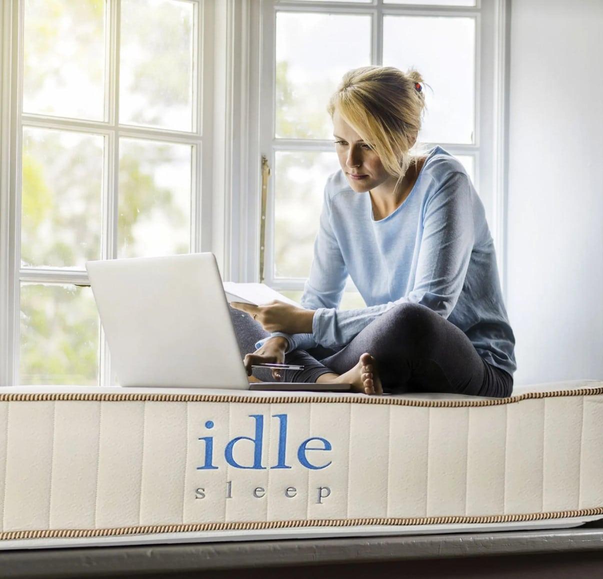 idle sleep natural latex hybrid mattress